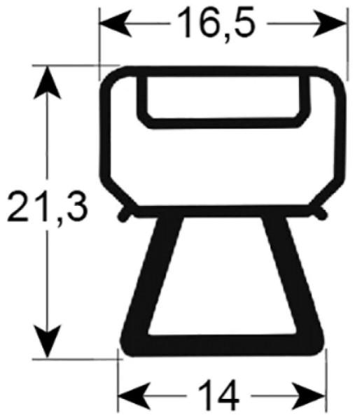 Kältedichtung Profil 9166 L 2500mm