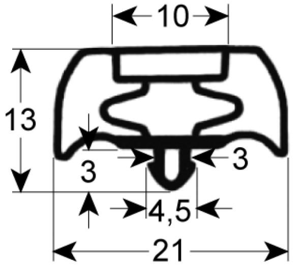 Kältedichtung Profil 9252 L 2500mm