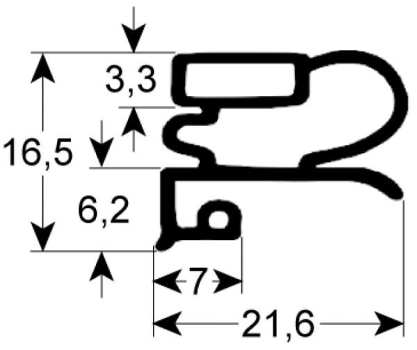 Kältedichtung Profil 9030 L 2500mm
